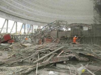 Sập công trình nhà máy điện Trung Quốc, 22 người chết