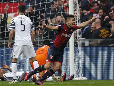 Genoa 3-1 Juventus: Cái tát