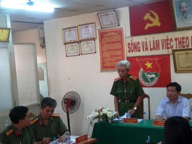 Thiếu tướng Phan Anh Minh, Phó giám đốc Công an TPHCM thông tin về tái lập Đội săn bắt cướp