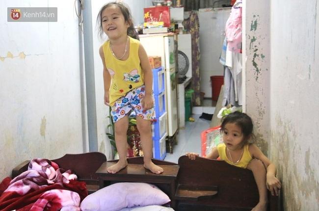 Vợ bỏ đi, người cha bệnh tật nhọc nhằn nuôi 2 bé gái sinh đôi xinh như thiên thần - Ảnh 5.