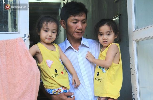 Vợ bỏ đi, người cha bệnh tật nhọc nhằn nuôi 2 bé gái sinh đôi xinh như thiên thần - Ảnh 17.