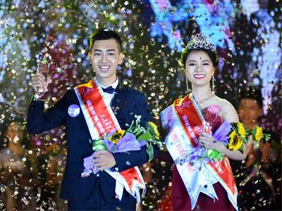 Chàng trai cao 1,8 m trở thành nam vương ĐH Quốc gia Hà Nội