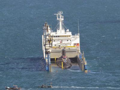 Tàu ngầm Kilo-636 Bà Rịa - Vũng Tàu đã về đến đâu rồi?
