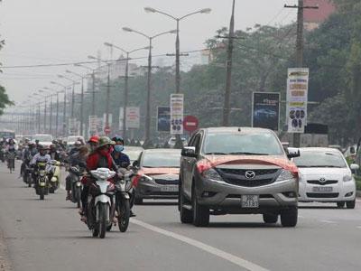 Dân bức xúc diễu hành phản đối thu phí qua cầu Bến Thủy 1