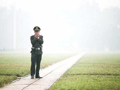Chùm ảnh: Lặng ngắm Hà Nội trong những ngày mù sương