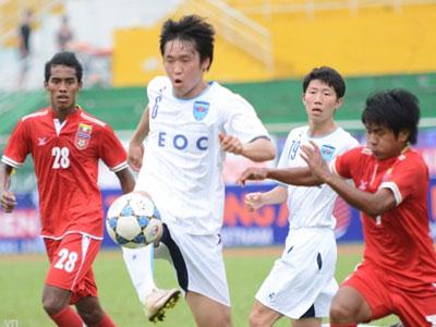 U21 Yokohama chinh phục khán giả bằng lối chơi đẹp mắt