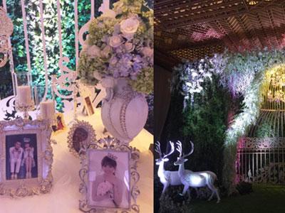HOT: Hé lộ không gian đậm chất cổ tích trong tiệc cưới của Trấn Thành - Hari Won