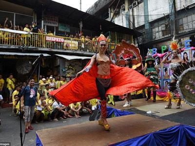 Tù nhân LGBT tại Philippines thả dáng trong cuộc thi sắc đẹp