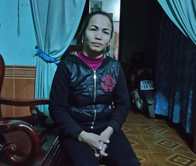 Bà Lê Thị Ngưu- mẹ anh Nguyễn Hữu Định. Ảnh: M.K
