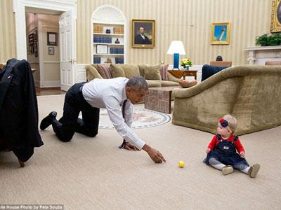 Những khoảnh khắc đáng nhớ của Obama ở Nhà Trắng 2016