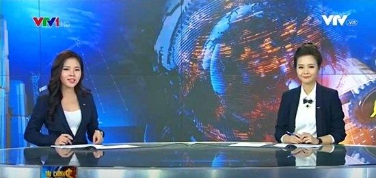 BTV Hoài Anh xinh đẹp nổi bật giữa dàn MC của VTV - 1