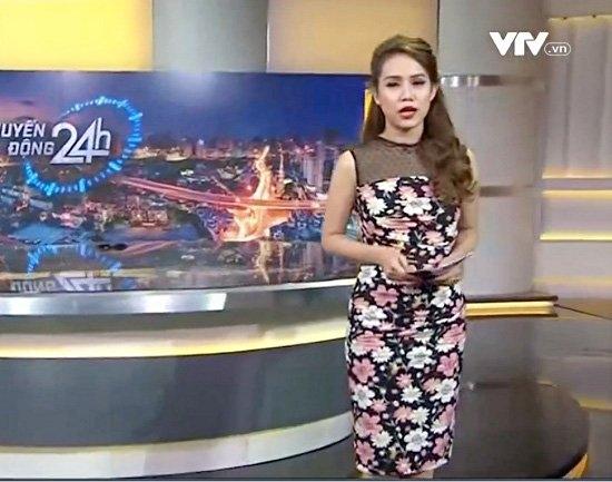 BTV Hoài Anh xinh đẹp nổi bật giữa dàn MC của VTV - 6