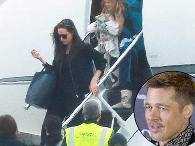 Brad Pitt điên tiết khi Angelina Jolie liên tục di chuyển chỗ ở của các con