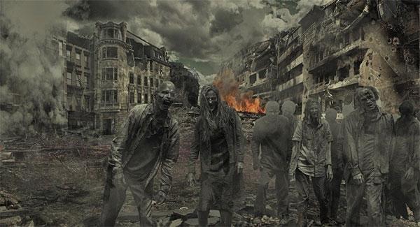 Dự báo ghê sợ về đại dịch xác sống trên trái đất