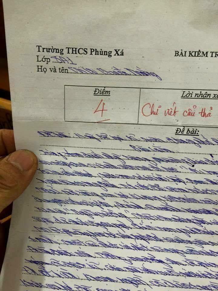 bai van lop 8 chu xau... khong the ta lam dan mang khoc thet hinh anh 1