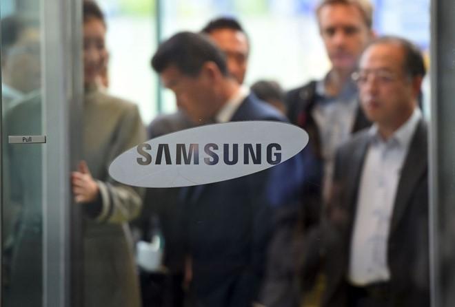 Lanh dao Samsung bi trieu tap vi be boi cua Tong thong Han hinh anh 1