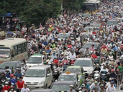 Tháng 7 Hà Nội trình đề án hạn chế phương tiện cá nhân