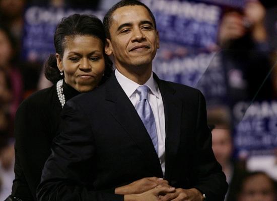 Phía sau thành công của Barack Obama luôn có hình bóng của Michelle.