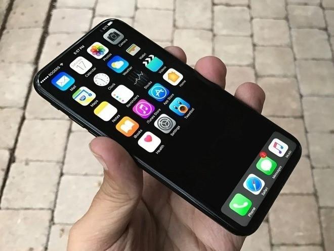 iPhone 8 se co khung thep khong gi hinh anh 1