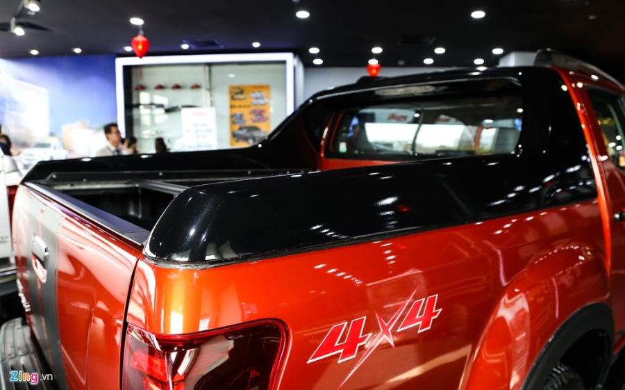 Isuzu D-max 2017 ra mat tai Viet Nam, gia cao nhat 840 trieu hinh anh 9