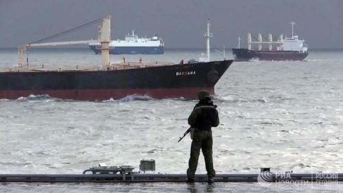 [ẢNH] Khoảnh khắc đẹp của tàu sân bay Nga tham chiến ở Syria  ảnh 6