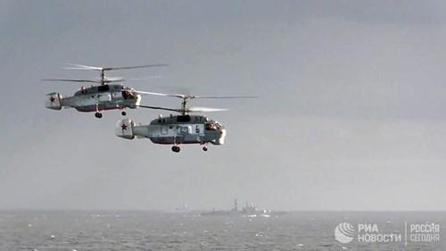 [ẢNH] Khoảnh khắc đẹp của tàu sân bay Nga tham chiến ở Syria  ảnh 11