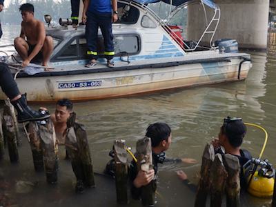 Tắm sông ở Sài Gòn, thiếu niên mất tích