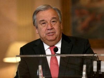 Tân Tổng thư ký LHQ lần đầu có bài phát biểu tại Hội đồng Bảo an LHQ
