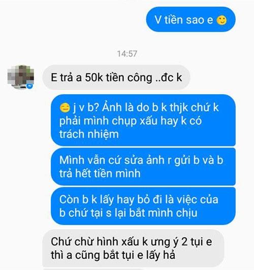 "2 co gai ""noi"" nhat mang xa hoi, che anh xau tra cong 3 gio chup hinh 50.000 dong - 5"