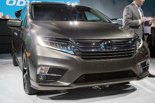 """2018 Honda Odyssey với ghế ngồi """"thần thánh"""" - 2"""