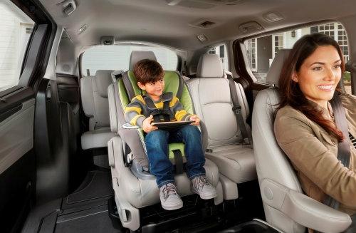 """2018 Honda Odyssey với ghế ngồi """"thần thánh"""" - 3"""