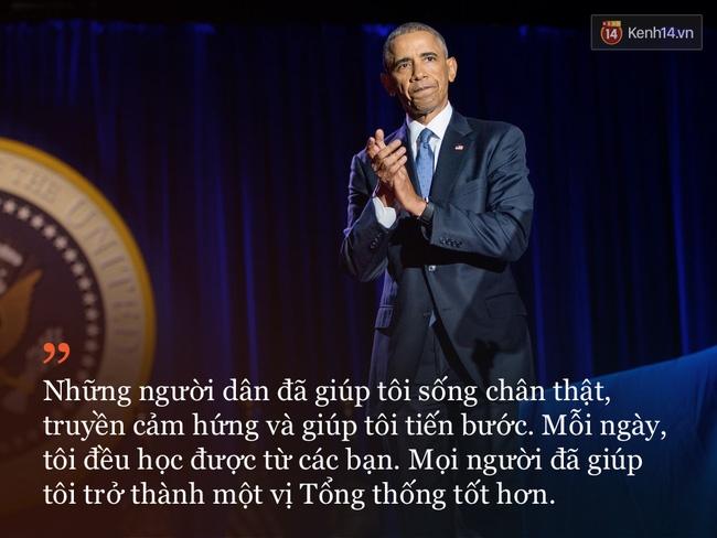 9 câu nói ấn tượng trong bài phát biểu cuối cùng khép lại hành trình 8 năm của Tổng thống Barack Obama với nước Mỹ - Ảnh 2.