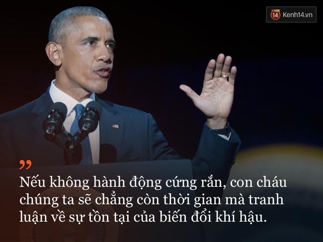 9 câu nói ấn tượng trong bài phát biểu cuối cùng khép lại hành trình 8 năm của Tổng thống Barack Obama với nước Mỹ - Ảnh 5.