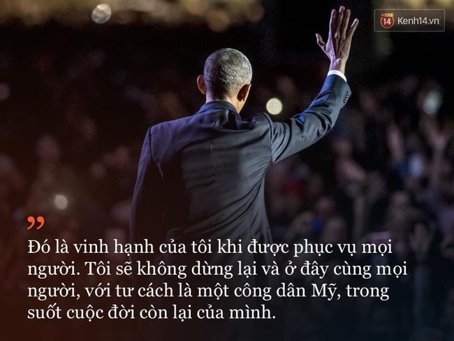 9 câu nói ấn tượng trong bài phát biểu cuối cùng khép lại hành trình 8 năm của Tổng thống Barack Obama với nước Mỹ - Ảnh 9.