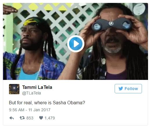 Con gái út nhà ông Obama không tham dự bài phát biểu chia tay của cha vì bận thi cử - Ảnh 2.