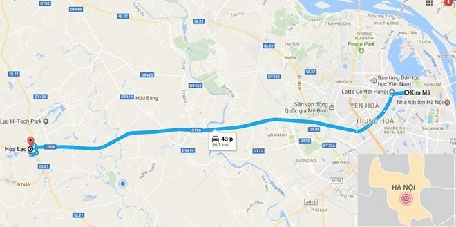 Ha Noi sap khoi cong tuyen buyt nhanh BRT thu 2 dai 35 km hinh anh 2