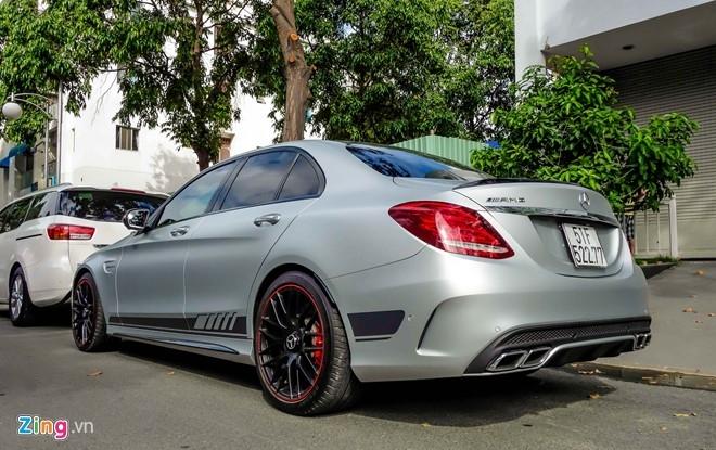 Mercedes C63S 4,6 ty ve tay Cuong Do La hinh anh 3