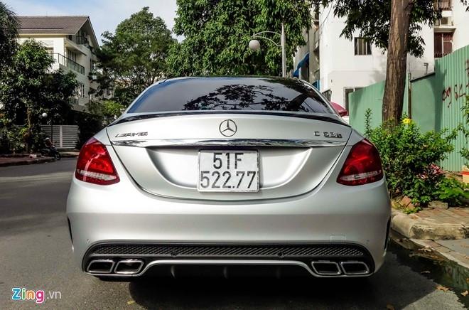 Mercedes C63S 4,6 ty ve tay Cuong Do La hinh anh 4