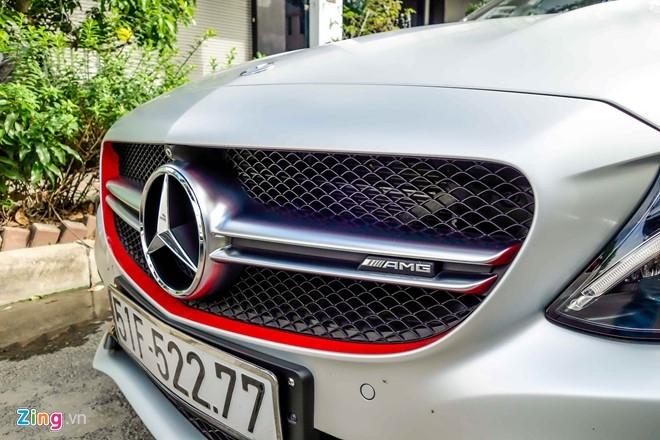 Mercedes C63S 4,6 ty ve tay Cuong Do La hinh anh 5
