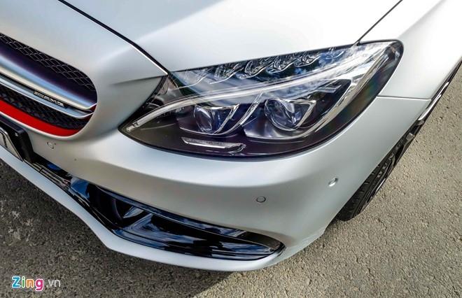 Mercedes C63S 4,6 ty ve tay Cuong Do La hinh anh 6