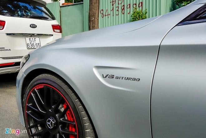 Mercedes C63S 4,6 ty ve tay Cuong Do La hinh anh 8