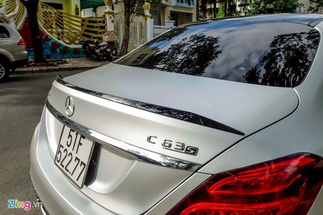 Mercedes C63S 4,6 ty ve tay Cuong Do La hinh anh 11