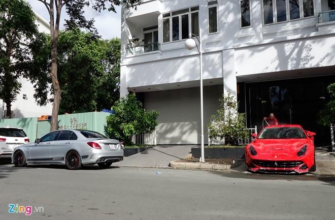 Mercedes C63S 4,6 ty ve tay Cuong Do La hinh anh 12