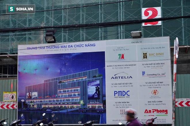 Sập tại công trình xây trung tâm thương mại ở Sài Gòn, nhiều người bị thương - Ảnh 2.