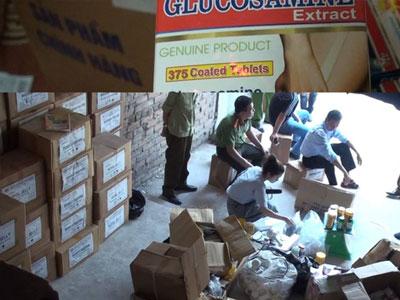 Bắt giữ 3 đối tượng trong vụ làm giả 20.000 hộp thực phẩm chức năng