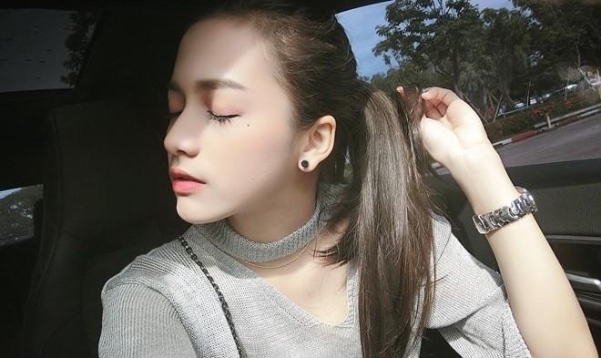 9X Thai Lan xinh dep thuong bi nham la con lai hinh anh 8