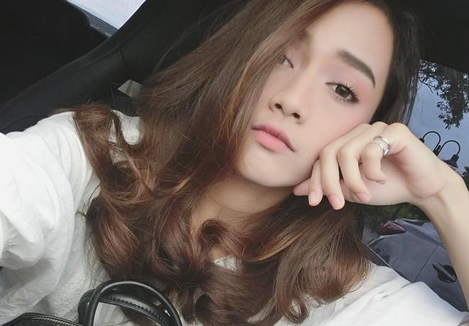 9X Thai Lan xinh dep thuong bi nham la con lai hinh anh 9