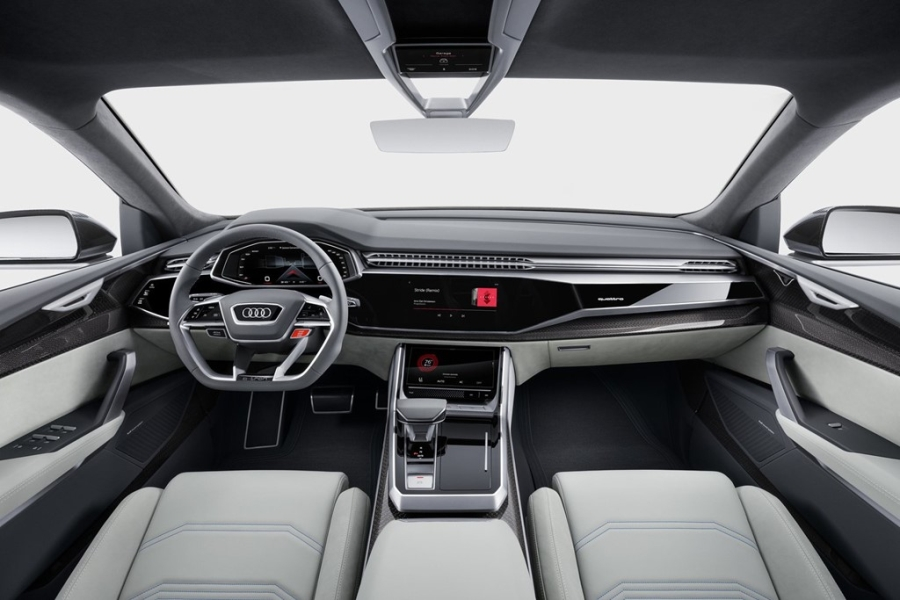 Audi Q8 concept: Thach thuc moi cua BMW X6 hinh anh 6