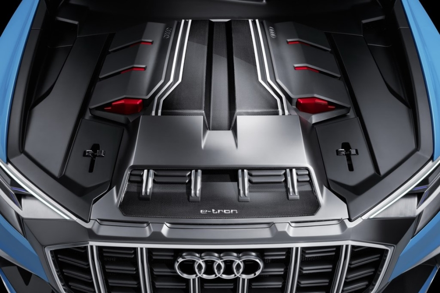 Audi Q8 concept: Thach thuc moi cua BMW X6 hinh anh 8