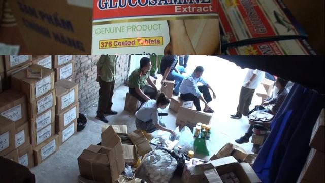 Hàng chục nghìn hộp thực phẩm chức năng bị thu giữ trong đợt đầu kiểm tra tại các cơ sở, chi nhánh của SLim-HMN tại Hà Nội